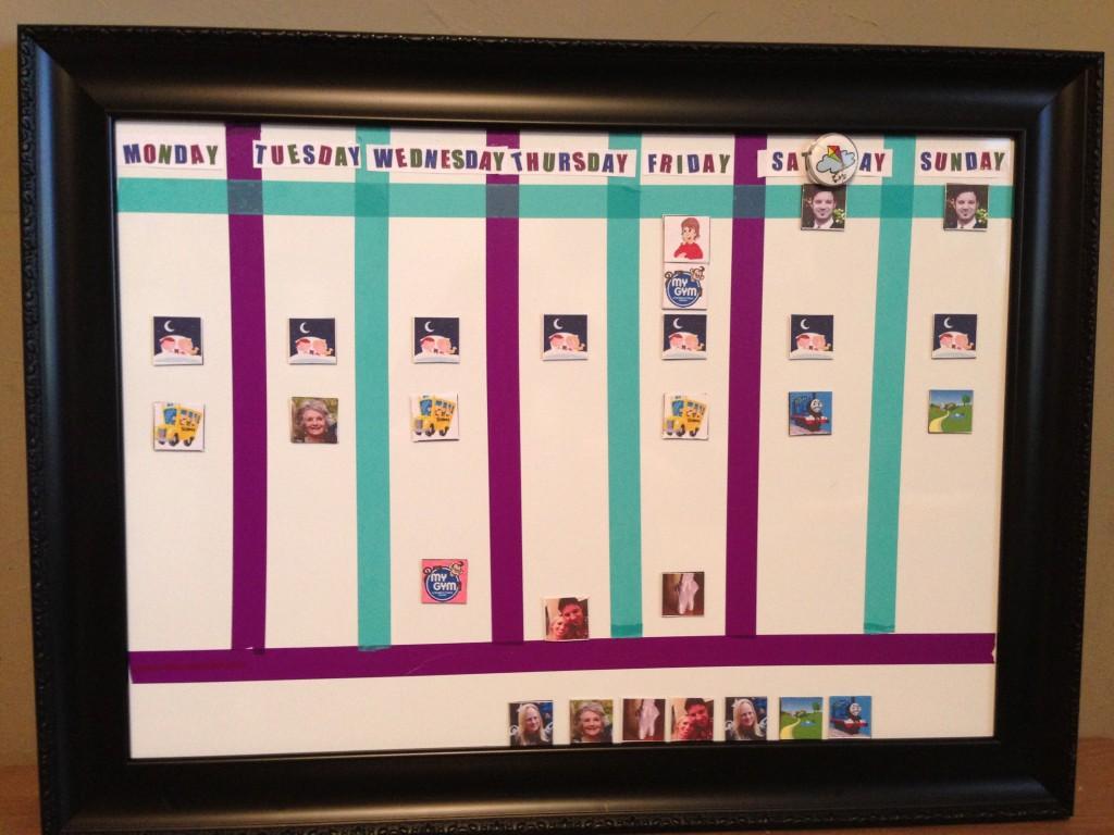Young Kids Calendar